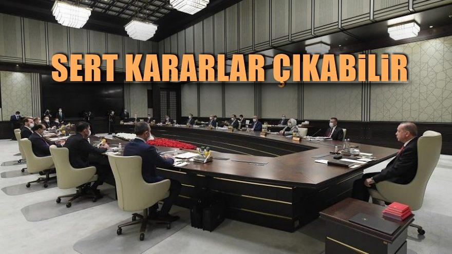 Artan vaka sayısı sonrası gözler Kabine toplantısında ,sert kararlar çıkabilir.