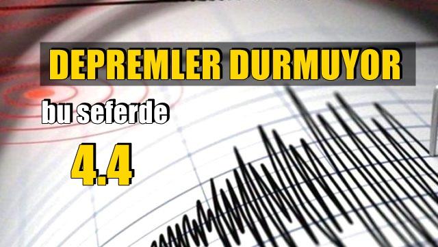Son dakika: Muğla'nın Marmaris ilçesinde 4,4 büyüklüğünde deprem