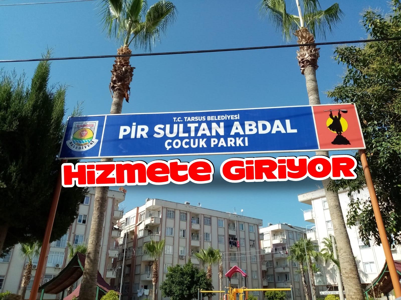 Pir Sultan Abdal Çocuk Parkı hizmete giriyor