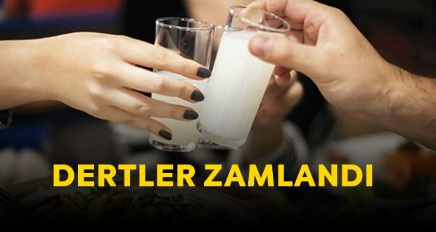 RAKI'YA ZAM GELDİ