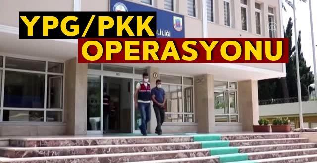 Terör örgütü YPG/PKK operasyonu: 3 kişi tutuklandı