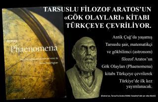 Aratos'un kitabı Türkçe'ye çevrilecek