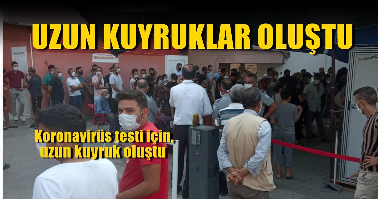 Tarsus'ta hastane doldu. Koronavirüs patlaması mı yaşanıyor?