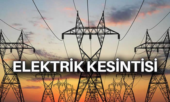 Yarın Tarsus'ta elektrik kesintisi yaşanacak.
