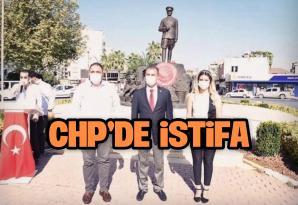 CHP'DE KADIN KOLLARI BAŞKANI İSTİFA ETTİ