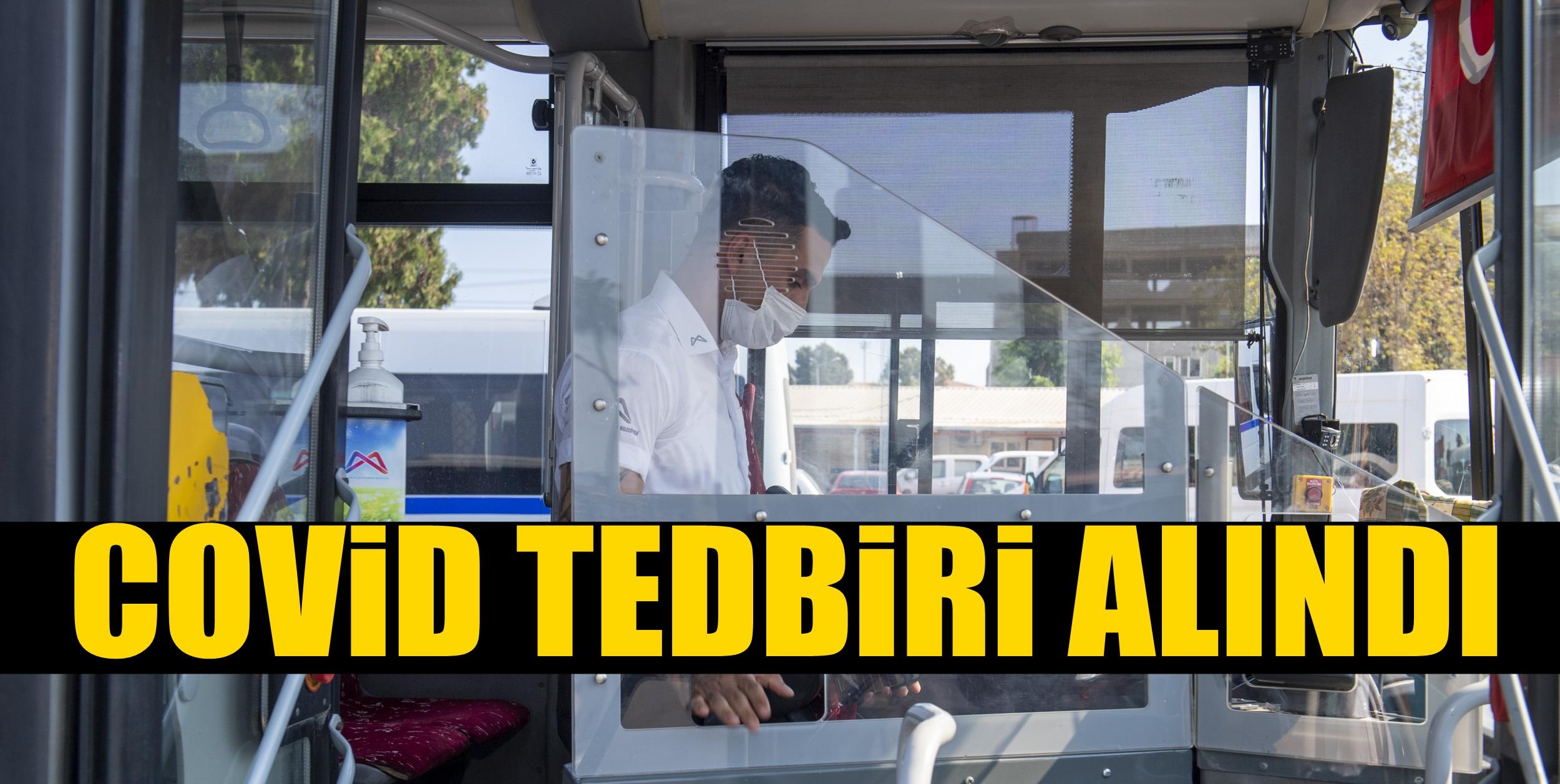 MERSİN BÜYÜKŞEHİR'DEN ULAŞIMDA COVID-19 ÖNLEMİ