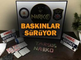 Tarsus'ta uyuşturucu operasyonunda 1 kişi tutuklandı
