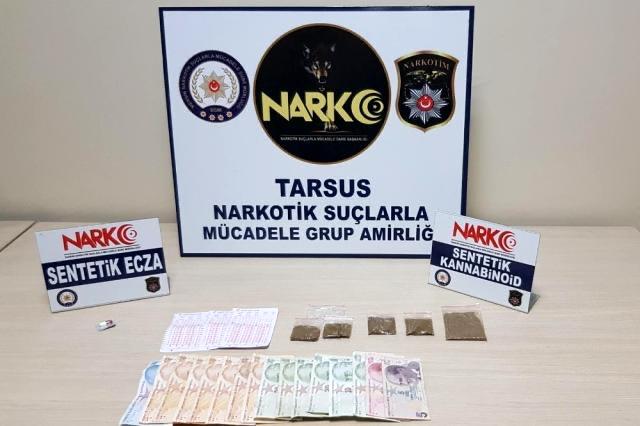 Tarsus'ta 127 kişi yakalandı