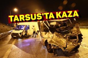 Tarsus Ziyarettepe'de kaza meydana geldi.
