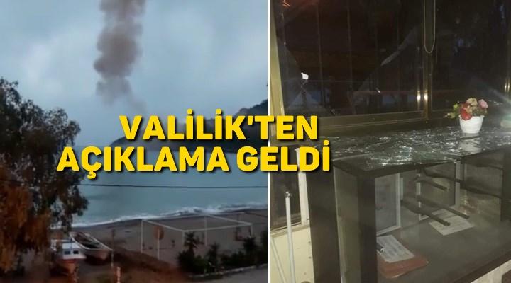 Akkuyu'da meydana gelen patlama sonrası Valilik'ten açıklama