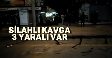 Tarsus'ta silahlı kavgada kan aktı. 3 yaralı var.