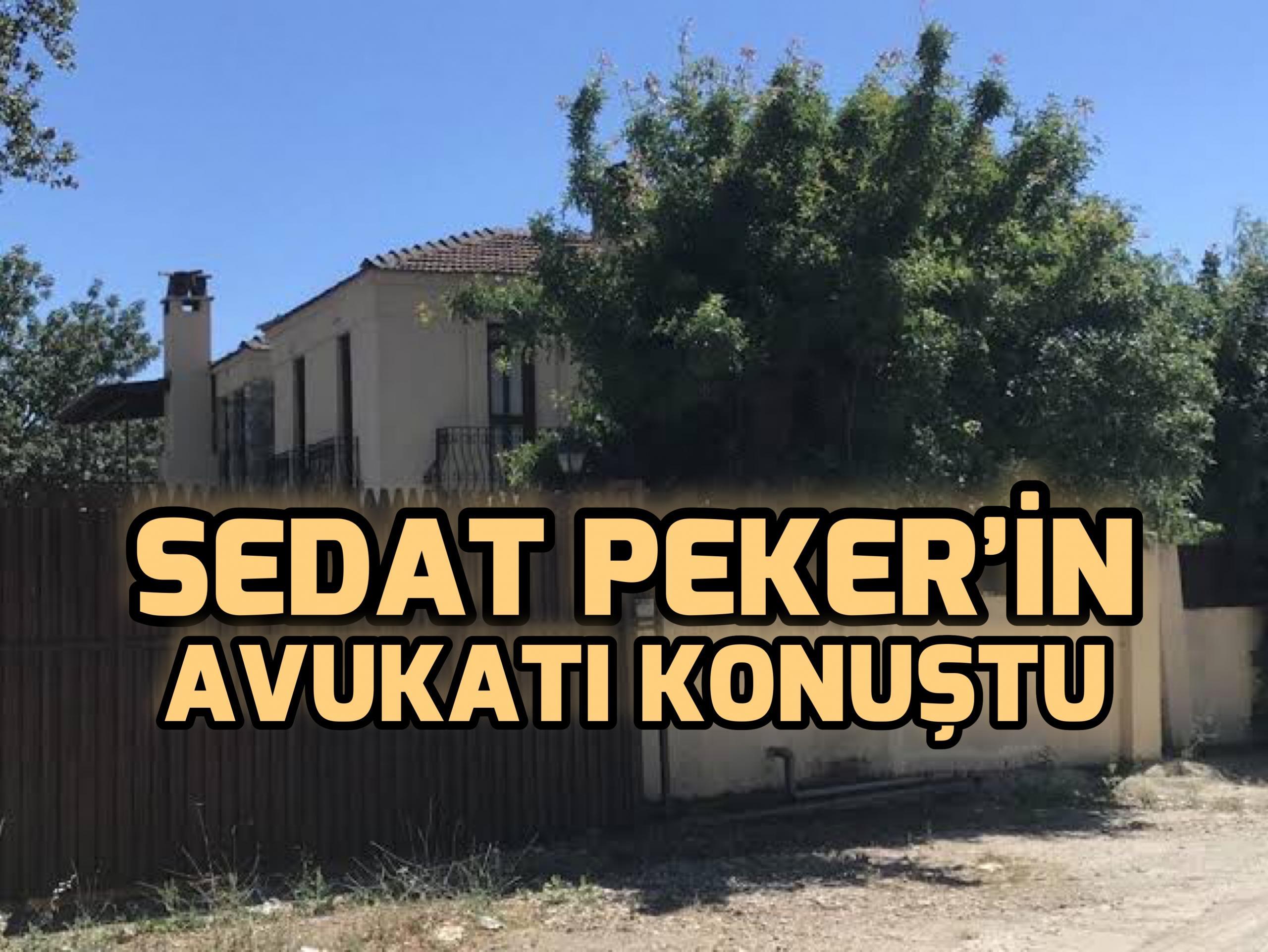 Sedat Peker'in Avukatları konuştu