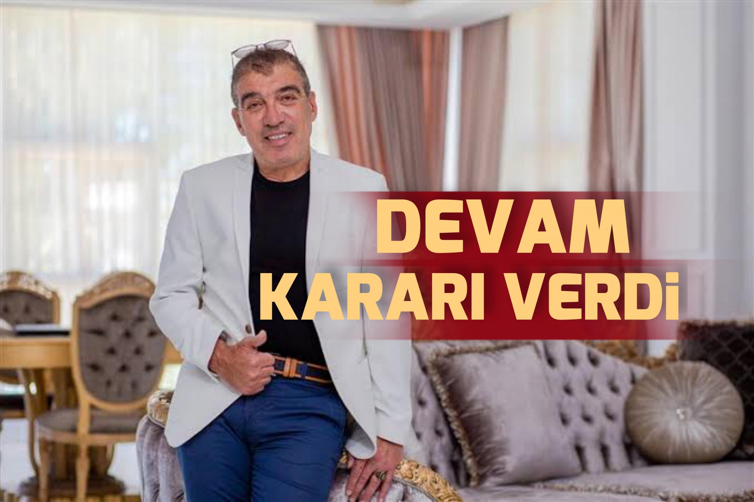 Şahin Kırbıyık istifasını geri çekti