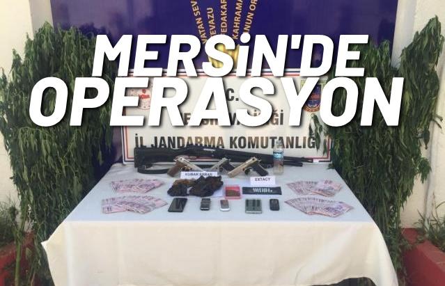 MERSİN'DE UYUŞTURUCU OPERASYONU