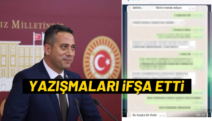 CHP'Lİ BAŞARIR'DAN ŞOK DOSYA