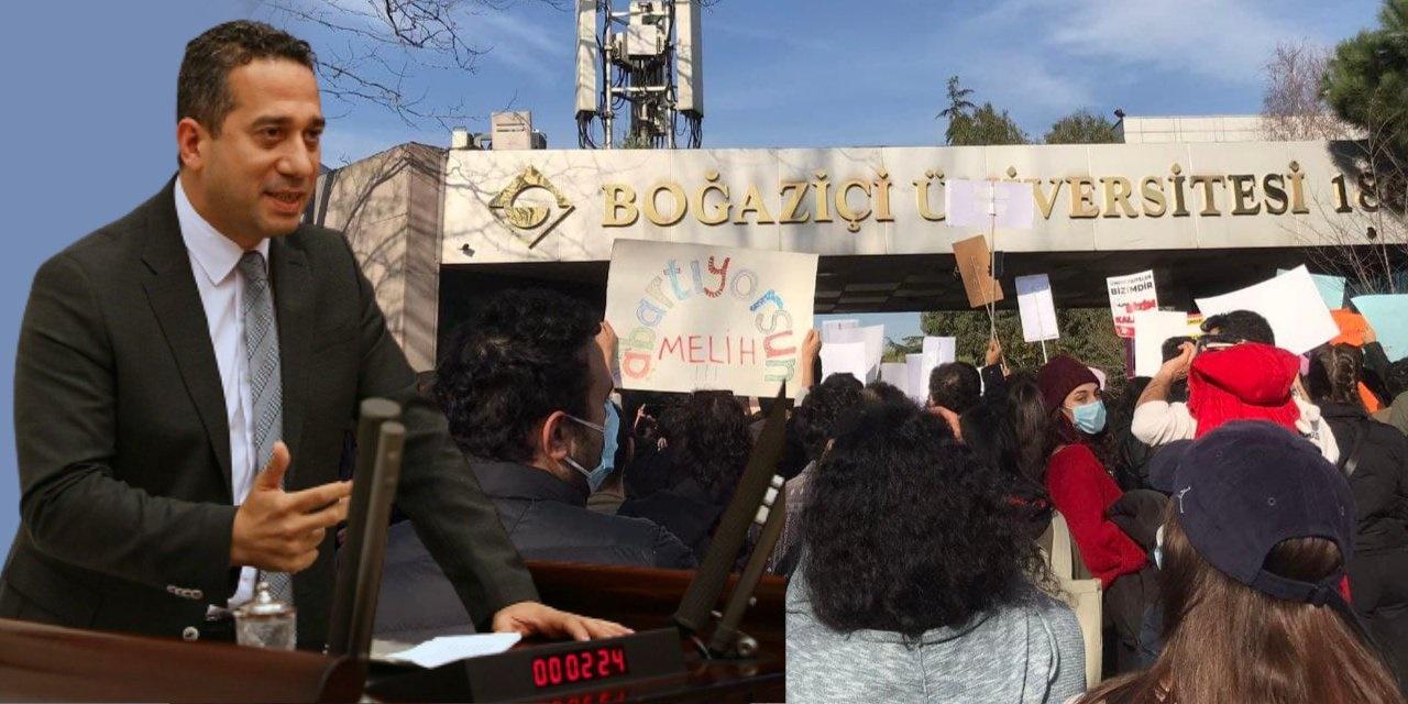 CHP'li Ali Mahir Başarır: Boğaziçi Üniversitesi'ne daha beteri gelecek, öğrencilerin başına balyoz gibi inecek