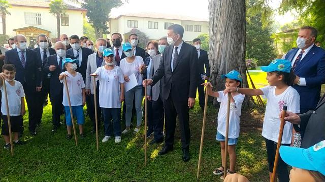 Milli Eğitim Bakanı Tarsus'a geldi