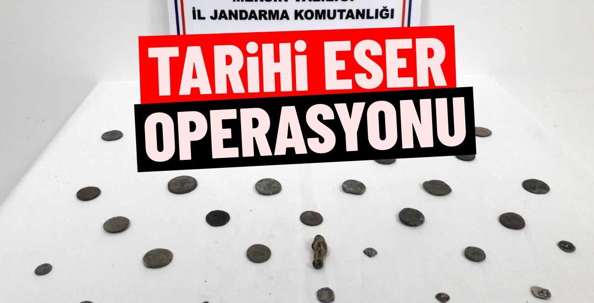 Tarsus'ta Tarihi Eser Kaçakçısına Operasyon