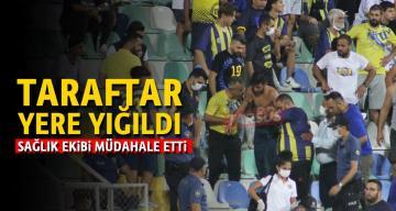 Tarsus İdman Yurdu -Erzincanspor maçında üzen anlar..