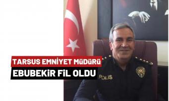 Tarsus'un Yeni Emniyet Müdürü Belli Oldu