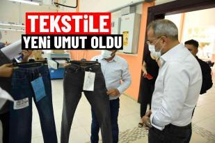 Tarsus Belediyesinin tekstil atölyesi hem istihdama hem ihracata katkı sağlıyor