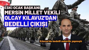 OLCAY KILAVUZ'DAN BEDELLİ ÇIKIŞI ,DÜZENLEME ŞART DEDİ